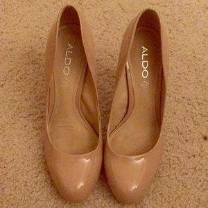 Beige Aldo heels
